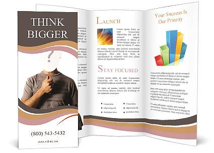 Vital Question Brochure Template