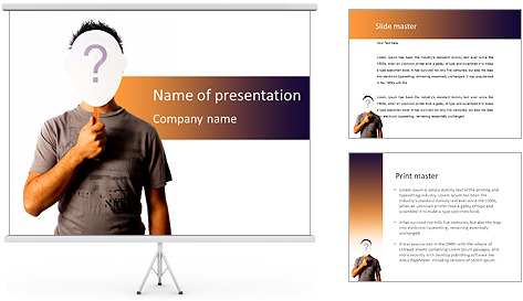 Vital Question PowerPoint Template