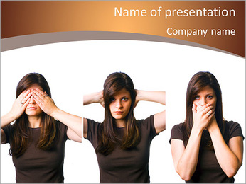 Avoid Conflict PowerPoint Template