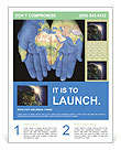 Map On Hands Flyer Templates
