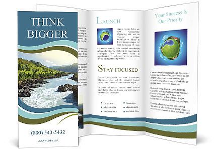 River Brochure Template