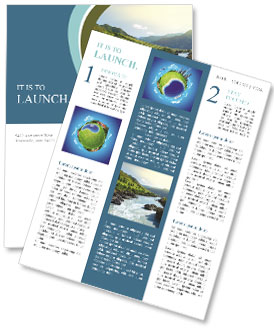 River Newsletter Templates