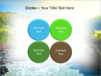 River PowerPoint Template - Slide 18