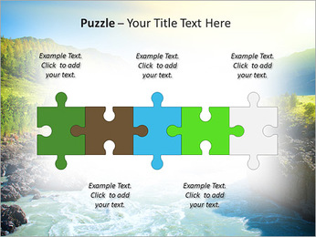 River PowerPoint Template - Slide 21