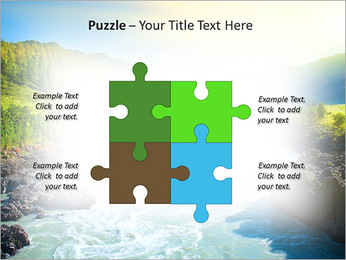 River PowerPoint Template - Slide 23