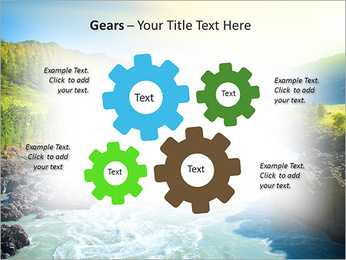 River PowerPoint Template - Slide 27