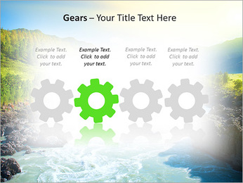 River PowerPoint Template - Slide 28