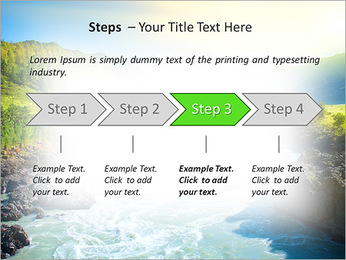 River PowerPoint Template - Slide 4