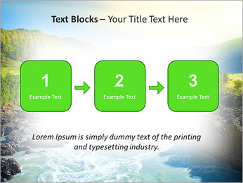 River PowerPoint Template - Slide 51