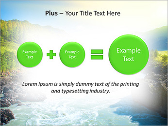 River PowerPoint Template - Slide 55
