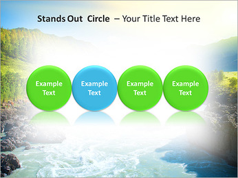 River PowerPoint Template - Slide 56
