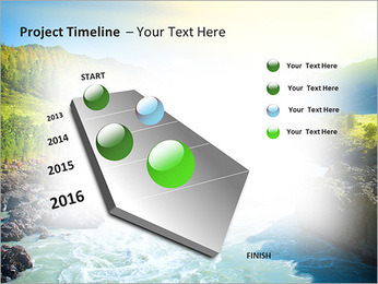 River PowerPoint Template - Slide 6