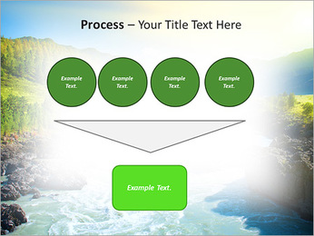 River PowerPoint Template - Slide 73