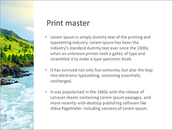 River PowerPoint Template - Slide 76