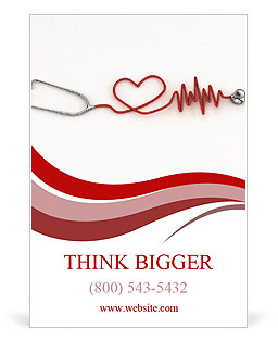 Cardiologist Ad Template