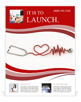 Cardiologist Flyer Template