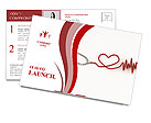 Cardiologist Postcard Template