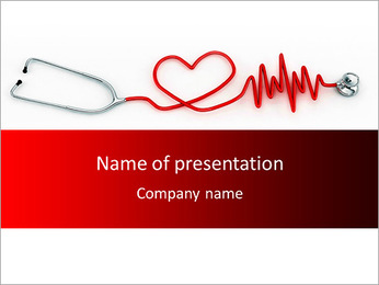 Cardiologist PowerPoint Template - Slide 1