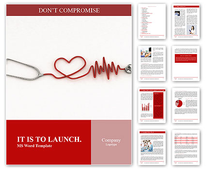 Cardiologist Word Template