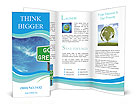 Go Green Sign Brochure Template