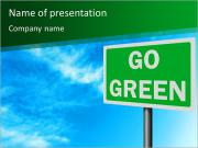 Go Green Войти Шаблоны презентаций PowerPoint