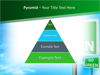Go Green Sign PowerPoint Template - Slide 10