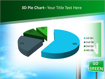 Go Green Sign PowerPoint Templates - Slide 15