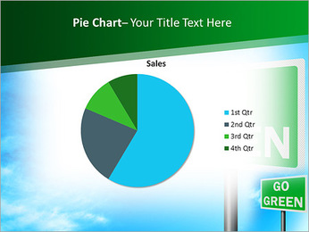 Go Green Sign PowerPoint Templates - Slide 16