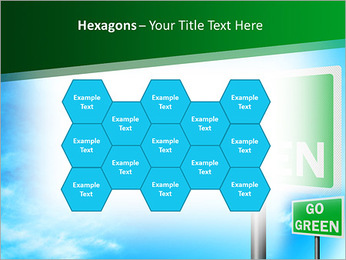 Go Green Sign PowerPoint Template - Slide 24