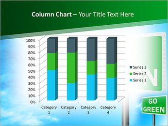 Go Green Sign PowerPoint Template - Slide 30