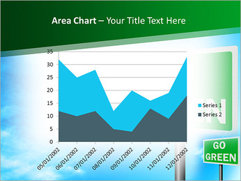 Go Green Sign PowerPoint Template - Slide 33