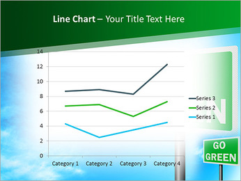 Go Green Sign PowerPoint Templates - Slide 34