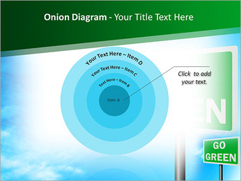 Go Green Sign PowerPoint Template - Slide 41