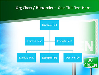 Go Green Sign PowerPoint Templates - Slide 46