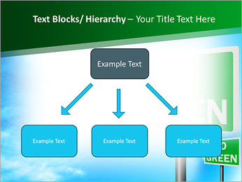Go Green Sign PowerPoint Templates - Slide 49