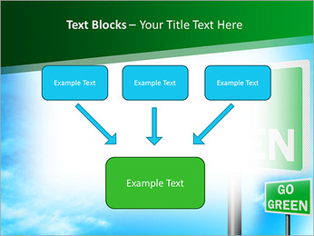 Go Green Sign PowerPoint Templates - Slide 50