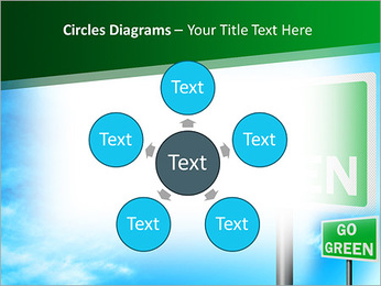 Go Green Sign PowerPoint Templates - Slide 58