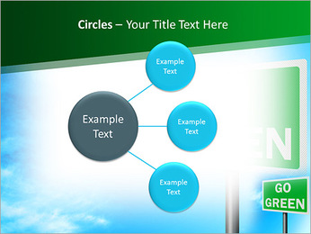 Go Green Sign PowerPoint Templates - Slide 59