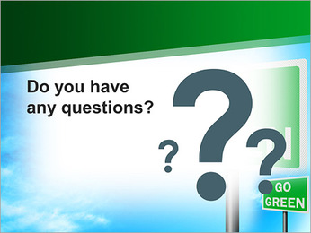 Go Green Sign PowerPoint Templates - Slide 75