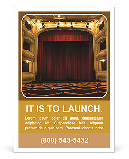 Theater Performance Ad Templates