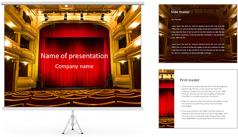 Theater Performance PowerPoint Template