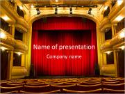 Theater Performance PowerPoint Templates
