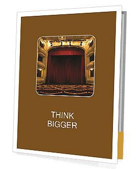Theater Performance Presentation Folder