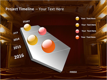 Theater Performance PowerPoint Template - Slide 6