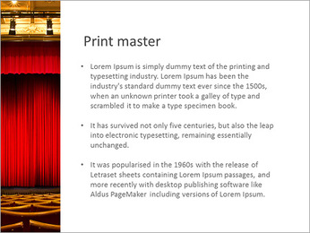 Theater Performance PowerPoint Template - Slide 76