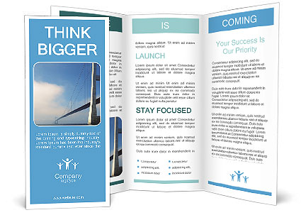 Build Bridge Brochure Template