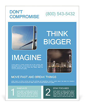 Build Bridge Flyer Template