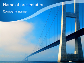 Build Bridge PowerPoint Template - Slide 1