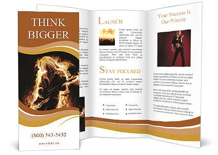 Guitar Rock Star Brochure Template
