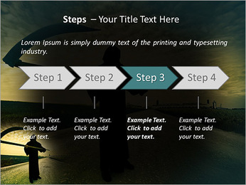 Death Image PowerPoint Template - Slide 4
